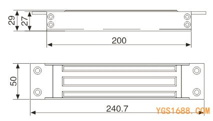 YGS-350N尺寸图