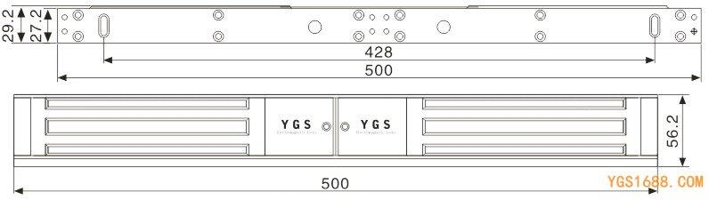 YGS-350MD尺寸图