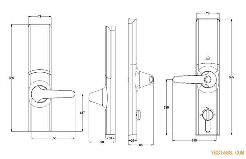 YGS-8866-FMC尺寸图