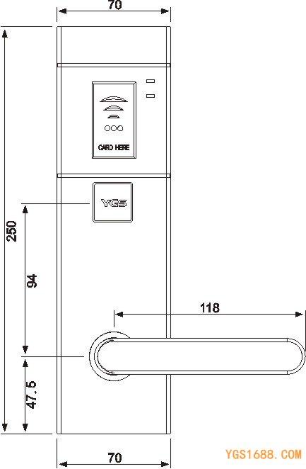 YGS-9910尺寸图